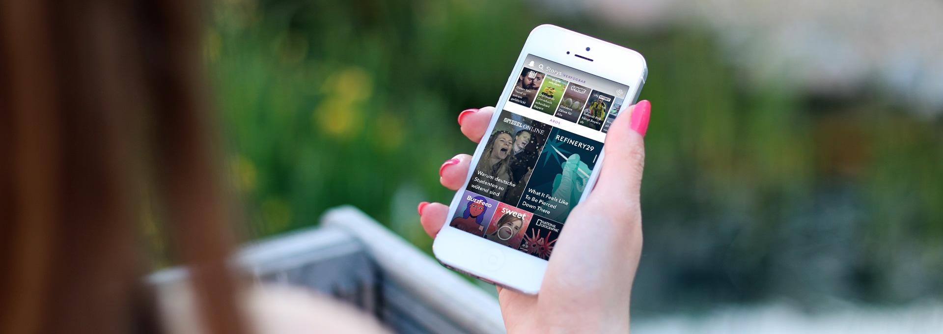 Gen Z Social Media Plattform Snapchat