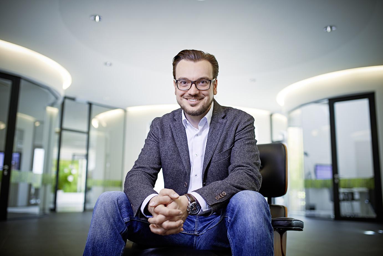 Michael Sahlender, Chief Business Officer der Gruppe und Geschäftsführer der CELUM Deutschland GmbH © 2016