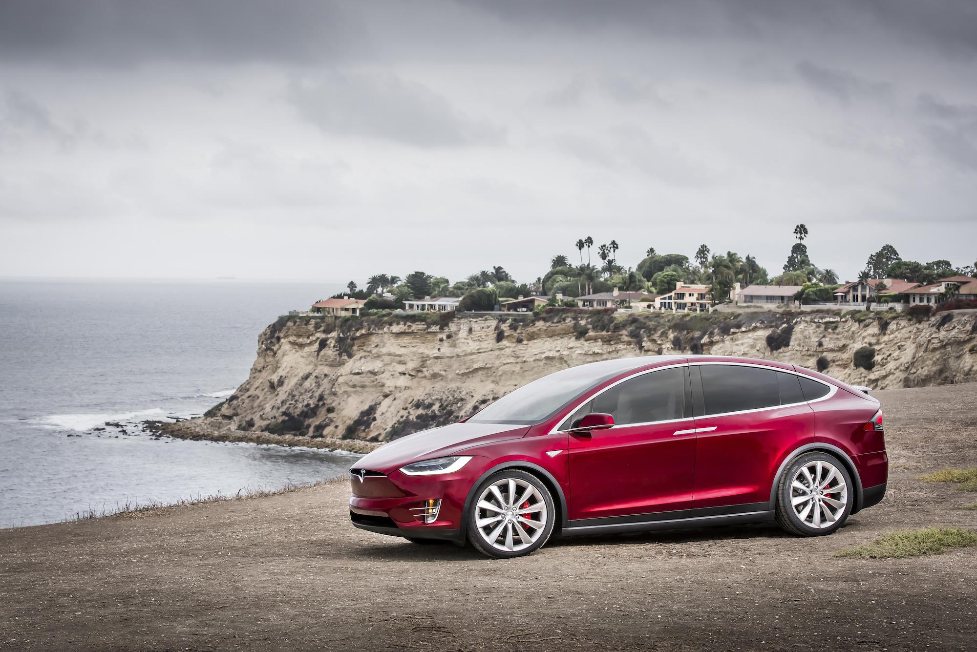 Tesla Elektroauto Model X