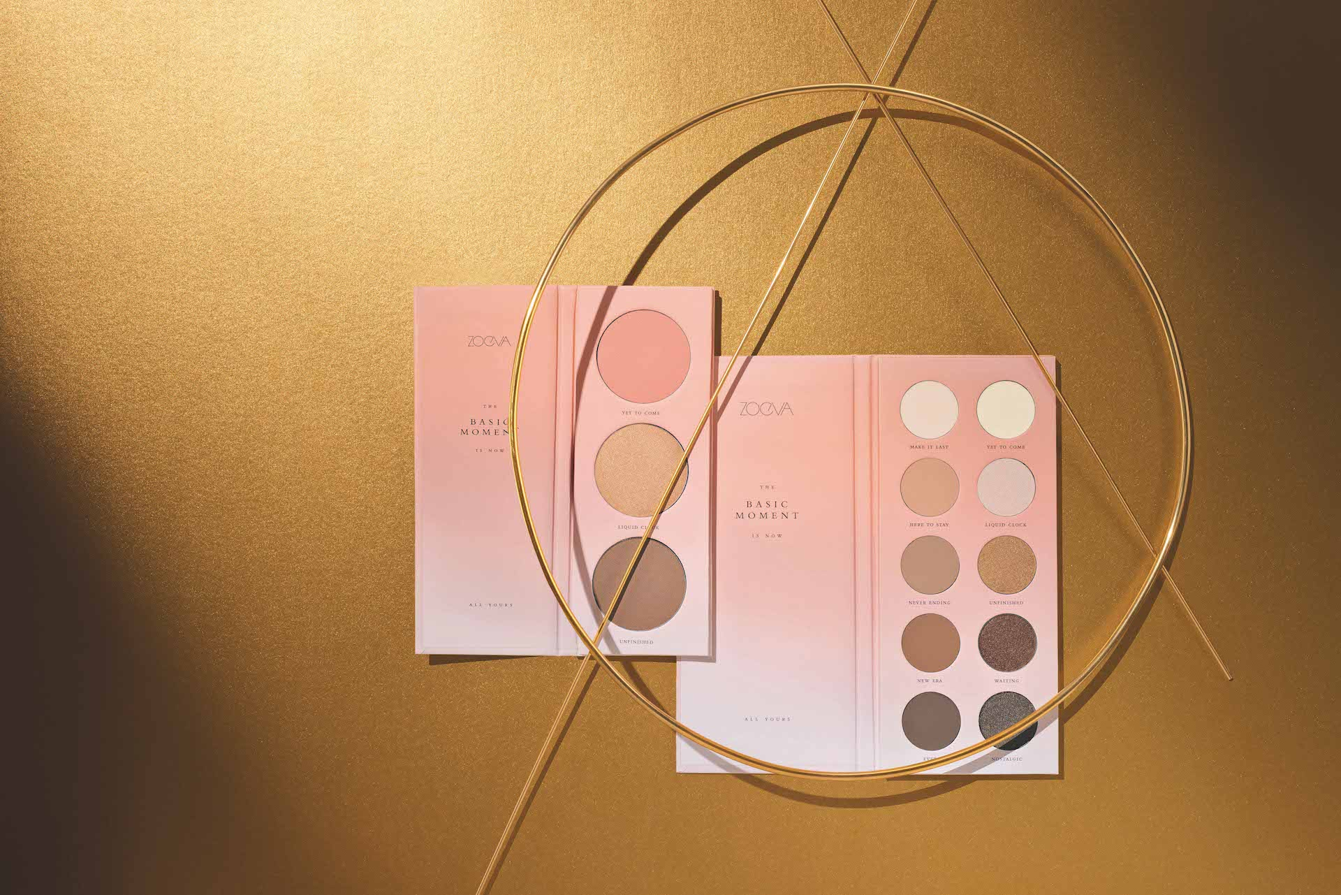 Zoeva Beauty-Blogger Kosmetik Eyeshadow + Blush Palette