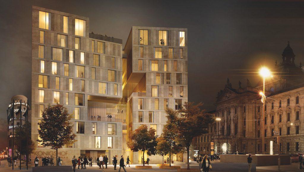 Hotel Königshof - Neubau Visualisierung © Geisel Privathotels
