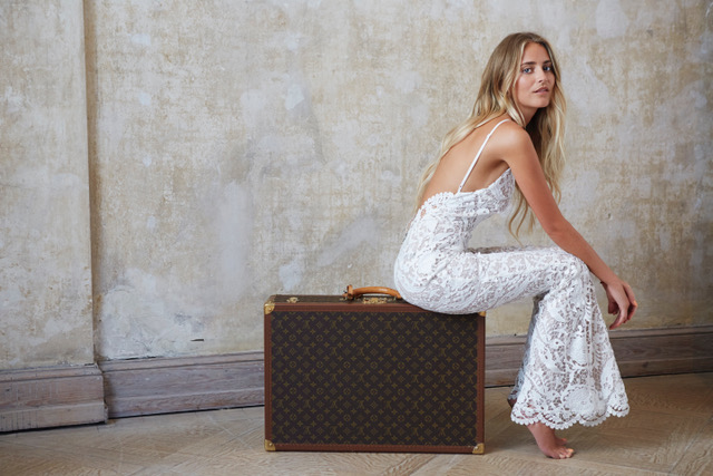 Vintage-Mode bei REBELLE: Luis-Vuitton-Koffer secondhand
