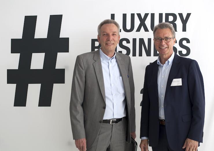 Werner M. Thieme, Herausgeber von Luxusmarkenmanagement: Grundlagen, Strategien und praktische Umsetzung beim Luxury Business Day 2017