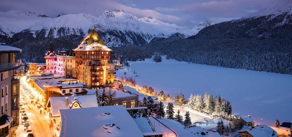 Badrutt's Palace Hotel St. Moritz im Winter
