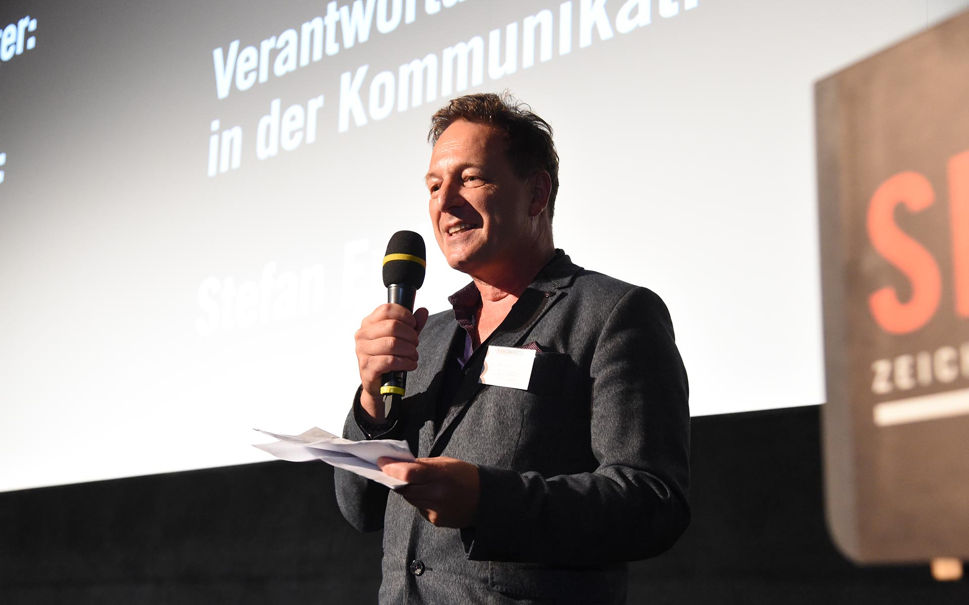 Stefan Endrös, SignsAward Gründer